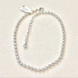 Beautiful Silver Rhinestone Necklace or Bracelet!